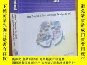 二手書博民逛書店Object-Oriented罕見Technology:From Diagram to Code with Vis