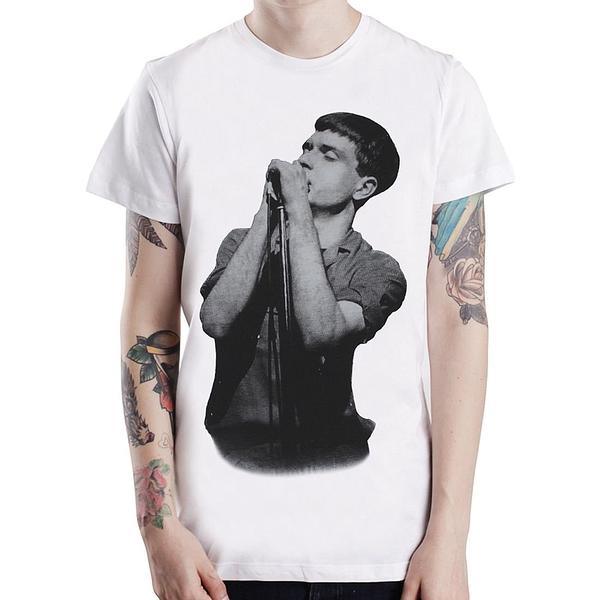JOY DIVISION-Ian Curtis短袖T恤-2色 人物樂團搖滾音樂