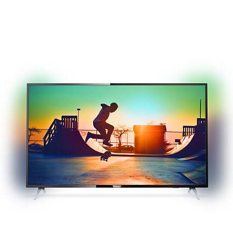 PHILIPS 飛利浦 50吋4K HDR 聯網液晶顯示器 50PUH6283 +視訊盒 只含運送不含安裝