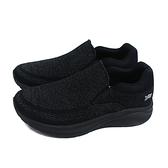 G.P (GOLD PIGEON) 阿亮代言 運動鞋 懶人鞋 黑色 針織 男鞋 P6943M-10 no465