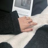 戒指女ins潮可調節復古風網紅時尚個性百搭食指冷淡指環  育心小館