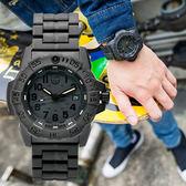 LUMINOX 雷明時 3502.BO NAVY SEAL 海豹突擊隊二代鏈帶腕錶/黑 45mm 熱賣中!