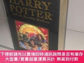 二手書博民逛書店Harry罕見Potter and the Deathly Hallows 哈利波特與死亡聖器 英文原版!!! 【