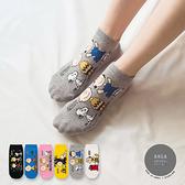 韓國襪子 橫版情境史努比短襪【K0760】