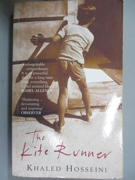 【書寶二手書T1/原文小說_HCE】Kite Runner_Hosseini, Khaled