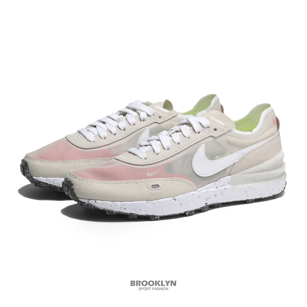 NIKE 休閒鞋 WAFFLE ONE CRATER 卡其 環保 小SACAI 男 (布魯克林) DC2650-200