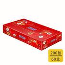 【五月花】扁盒裝面紙-煙火版 (200抽x60盒/箱)