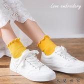 襪子女夏短襪純棉淺口可愛女士船襪