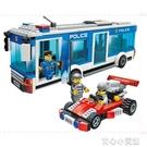 積木 兒童益智男童玩具警察系列攔截匪徒男孩益智積木拼裝玩具12歲以上 16育心