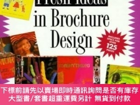 二手書博民逛書店Fresh罕見Ideas In Brochure Design (fresh Ideas)Y255174 Te