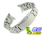 [美國直購] Ritche 22mm Stainless Steel Bracelet Watch Band 適 Casio MDV106 錶帶 Strap Color Silver