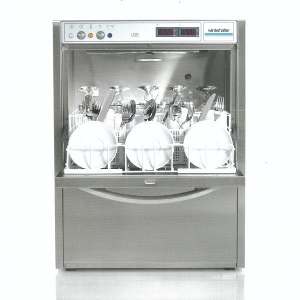 winterhalter U50 商用桌下型洗碗機-超值系列 【得意家電】單相220V,三相220V及三相380V都可以用