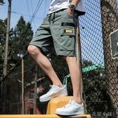 工裝短褲男 五分褲 韓版潮流 百搭 帥氣青少年 寬鬆 休閒褲-YSDJ722