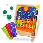 太空戰記木製遊戲卡彈珠台 玩具