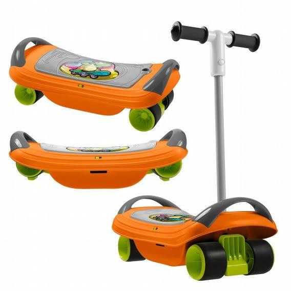 【chicco】奇哥 Fit & Fun運動遊戲系列-體能運動三合一滑板玩具
