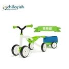 比利時Chillafish Quadie+Trailie 跨騎四輪滑步小拖車(清新綠) 2980元