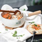 琺瑯 花磚日式雪平鍋日本搪瓷湯鍋單柄輔食奶鍋電磁爐泡面鍋多色小屋YXS