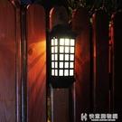戶外燈太陽能燈戶外庭院燈家用室外花園別墅裝飾燈景觀路燈門柱圍牆壁燈 NMS快意購物網