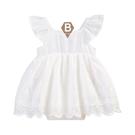 女童洋裝 女童連身衣 女童連身裙 純白公主款【W290619】