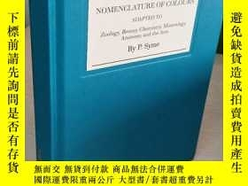 二手書博民逛書店Werner s罕見Nomenclature of Colours : Adapted to Zoology, B