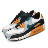 Nike 休閒鞋 Air Max 90 Essential 白 藍 黃 男鞋氣墊 復古慢跑鞋 運動鞋 【ACS】 AJ1285-110
