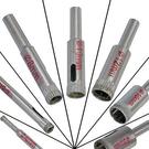 鑽孔大師 水電鑽洞-超硬鑽石粉製DIY 鑽石粉鑽頭4,6,8mm 居家常用3支基本組(電鑽鑽尾)