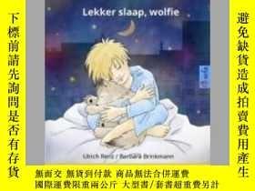 二手書博民逛書店Sleep罕見Tight, Little Wolf - Lekker slaap, wolfie. Bilingu