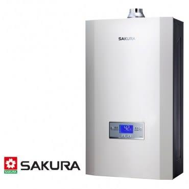 櫻花 SAKURA 渦輪增壓智能恆溫熱水器 16L DH1693(LPG/FE式)