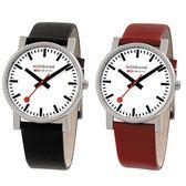 3.8cm 經典時尚對錶 Mondaine 瑞士國鐵錶