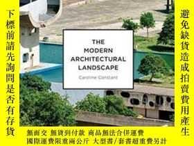 二手書博民逛書店Modern罕見Architectural Landscape-現代建築景觀Y436638 Caroline