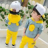 男寶寶秋裝套裝0一1-2-3歲韓版潮4男童洋氣小童秋季兒童衣服夏裝5