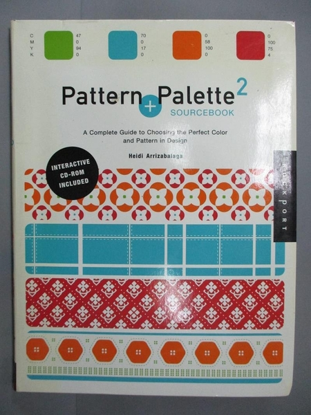 【書寶二手書T2/設計_JLH】Pattern and Palette Sourcebook 2-A Complete