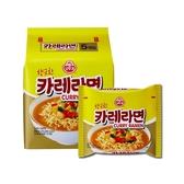 韓國不倒翁 咖哩拉麵(5入裝)【小三美日】