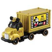 TOMICA 迪士尼 90週年紀念貨櫃車 金色 2018 TOYeGO 玩具e哥