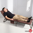 LOGIS 鋼管強化折疊床 單人床  陪客床 三折床 收納袋 午睡床 家用 露營 躺椅 睡椅 辦公室【Y008】