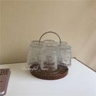 杯架 簡約圓形金屬杯架水杯架瀝水杯架子餐廳置物架【新品狂歡】