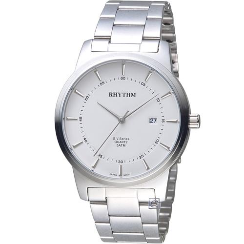 GS1601S01 日本麗聲錶 RHYTHM 沈穩內斂品味紳士錶