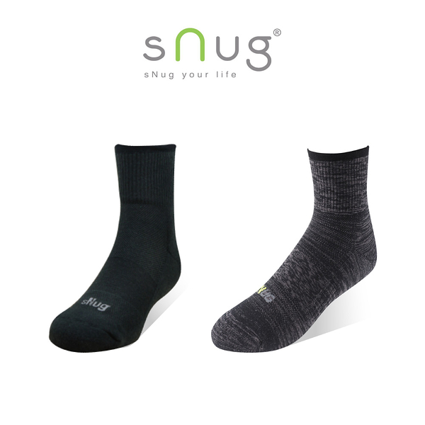 sNug 動能氣墊運動襪 (除臭襪/無痕襪口)
