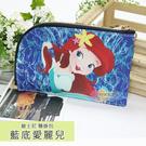 ☆小時候創意屋☆ 迪士尼 藍底愛麗兒 頸掛包 手機包 卡片包 零錢包 證件包 收納包 悠遊卡包 短夾