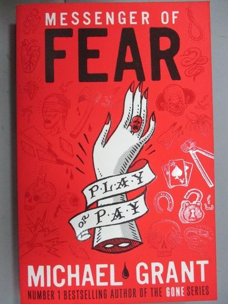 【書寶二手書T4/原文小說_HAX】Messenger of Fear_Michael Grant
