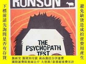二手書博民逛書店The罕見Psychopath Test 英文原版-《逃離瘋人院