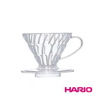 《HARIO》V60透明01樹脂濾杯 VD-01T