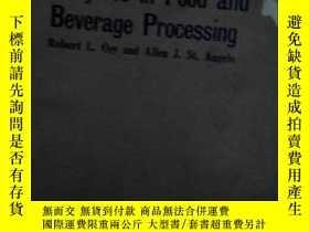 二手書博民逛書店EnZymes罕見in Food and Beverage pr