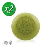 【南紡購物中心】【南法香頌】歐巴拉朵 甜杏仁油香皂-綠茶x2塊(150g/塊)