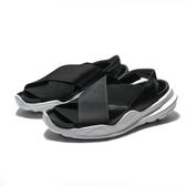 NIKE WMNS PRAKTISK 黑白 繃帶 輕量 後鋸齒 涼鞋 女 (布魯克林) AO2722-002