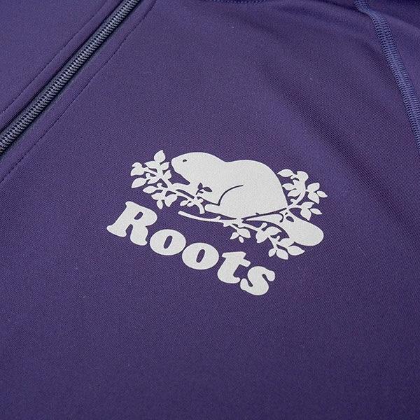 男裝-Roots 派尼頓連帽外套 - 藍色
