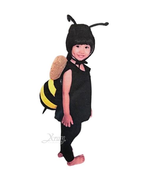 蓬蓬裝-蜜蜂球球裝(附頭套),昆蟲裝化妝舞會/角色扮演/活動/萬聖節服裝/聖誕節,X射線【W390025】