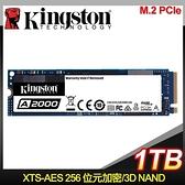 【南紡購物中心】Kingston 金士頓 A2000 1TB M.2 PCIe SSD固態硬碟【五年保】