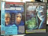 挖寶二手片-C09-正版DVD-電影【透明人1+2/系列2部合售】-(直購價)部份海報是影印