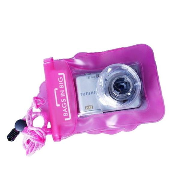 【DD326】伸縮鏡頭相機防水套 數位相機防水袋/防水包/潛水袋/防塵袋 保護套★EZGO商城★